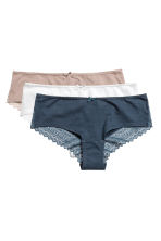 3-pack hipster briefs - Dark blue - Ladies | H&M 2